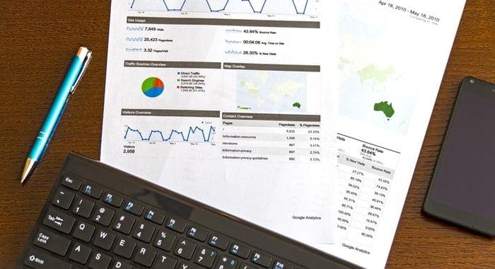 rapoarte in email marketing