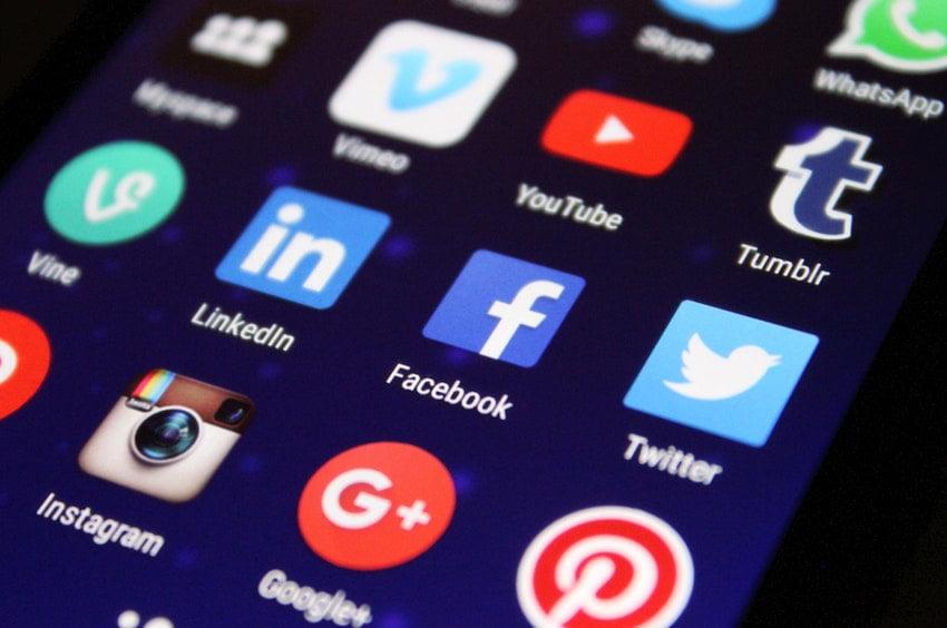 Butoane de social media