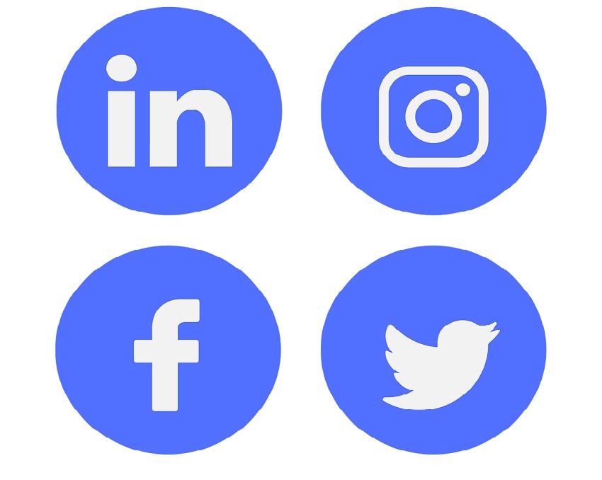 Butoane social media