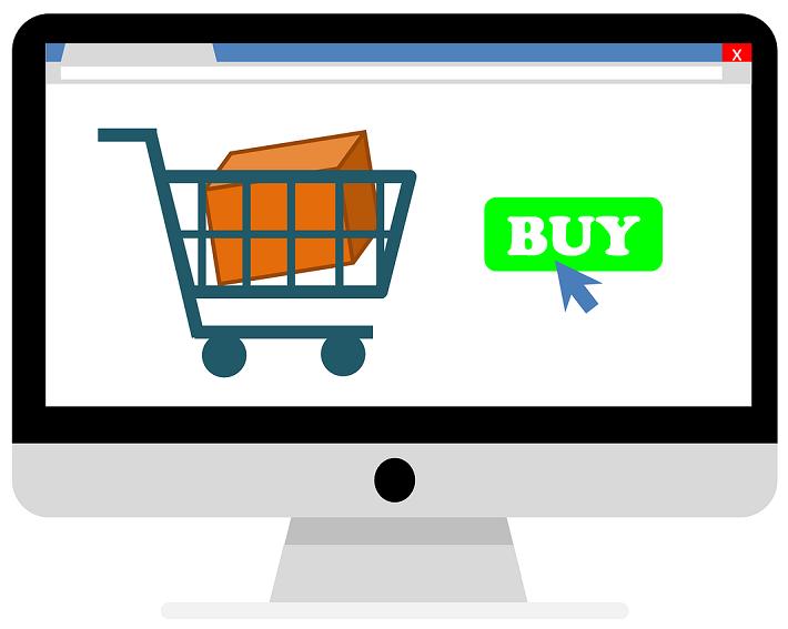 Cos de cumparaturi - site de vanzari online