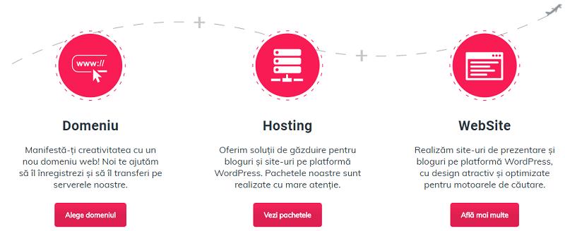 Iconite - structura de homepage