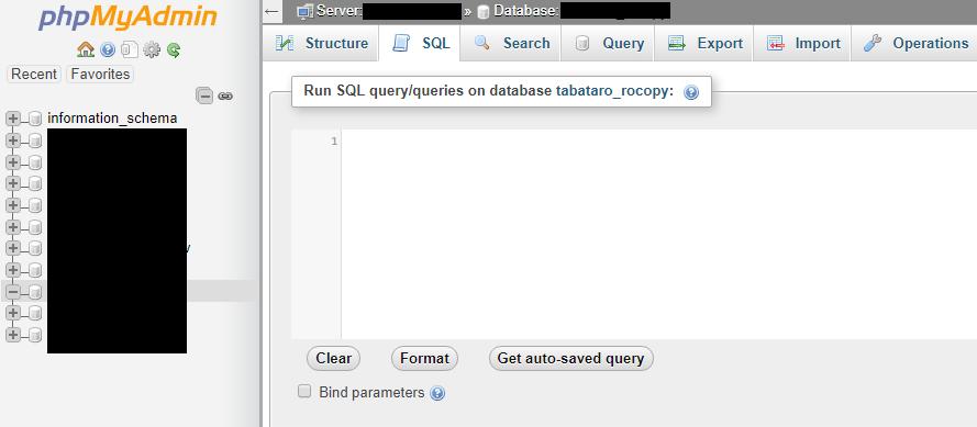 schimbare nume domeniu cPanel phpMyAdmin