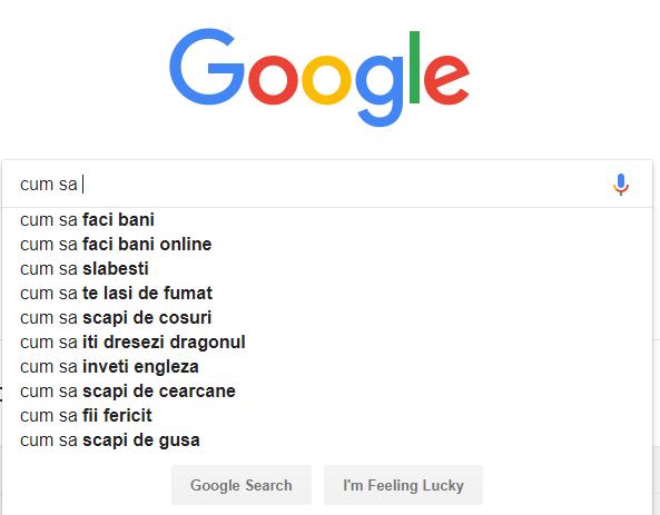 google cuvinte cheie servhost
