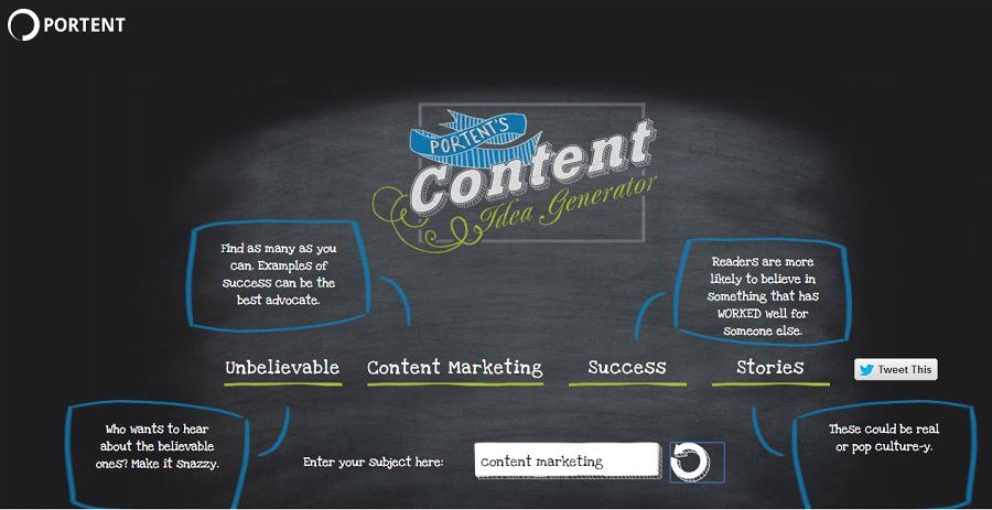 portent content idea generator