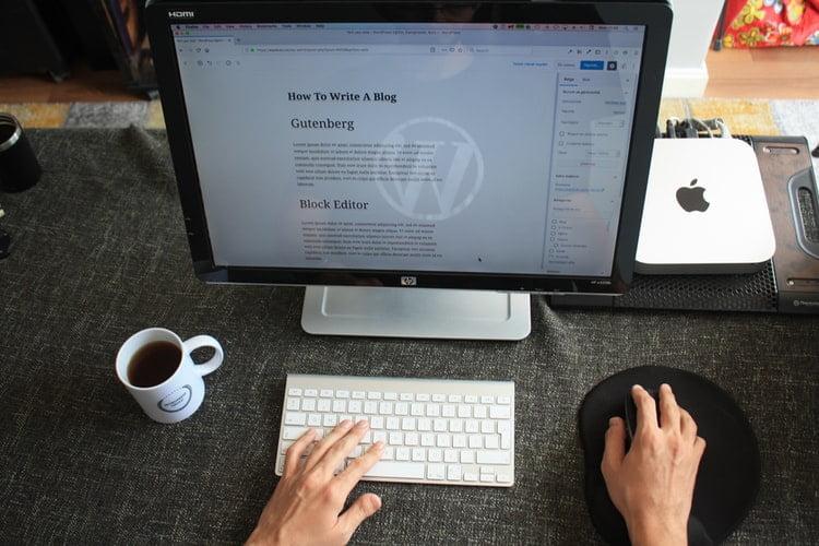 creare blog gratuit wordpress